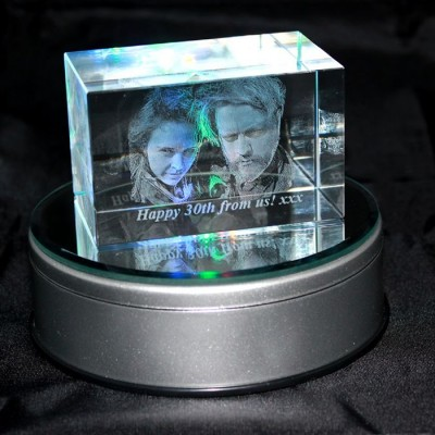 3D Odyssey Crystal Photo (Medium 80x50x50mm)